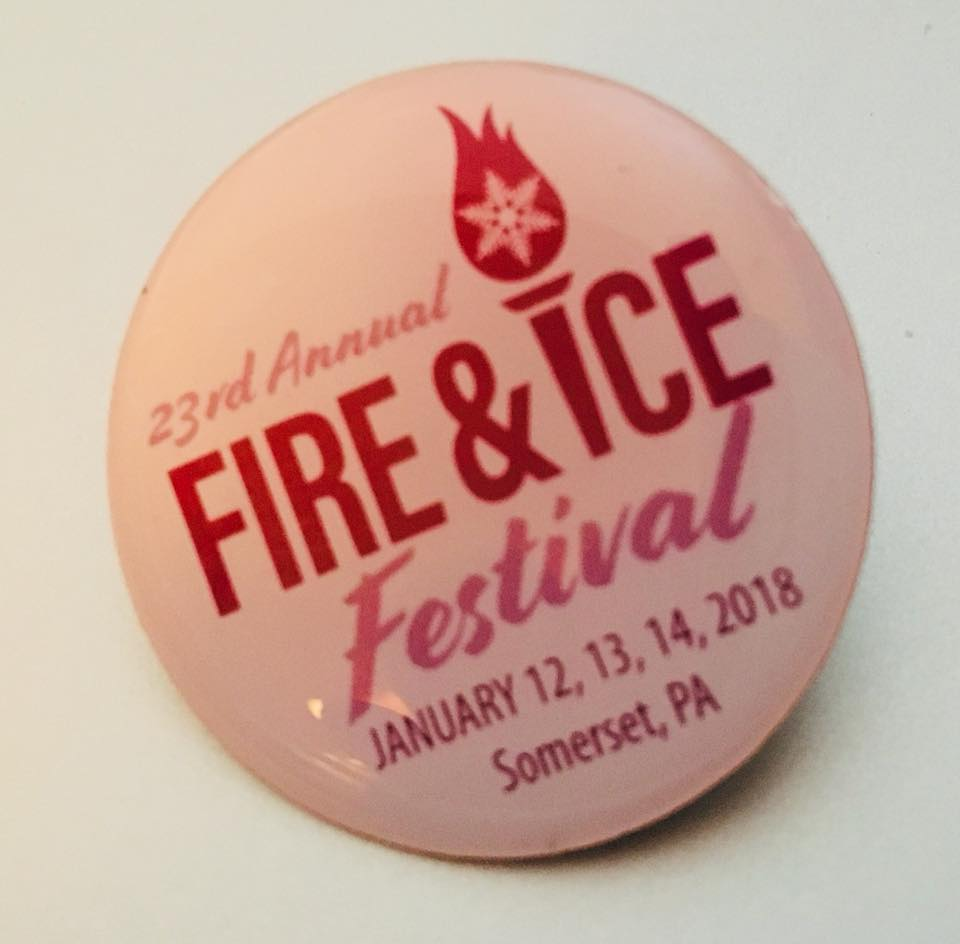 Fire & Ice Pin 2017 Collectible Souvenir